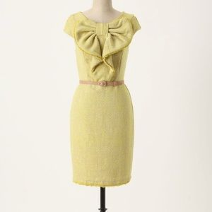 Anthropologie Eva Franco Vintage Tweed Dress